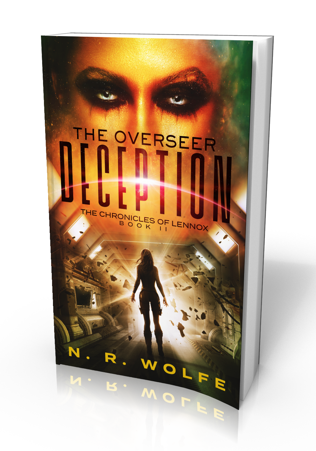 The Overseer - Deception Book 2 - 3D